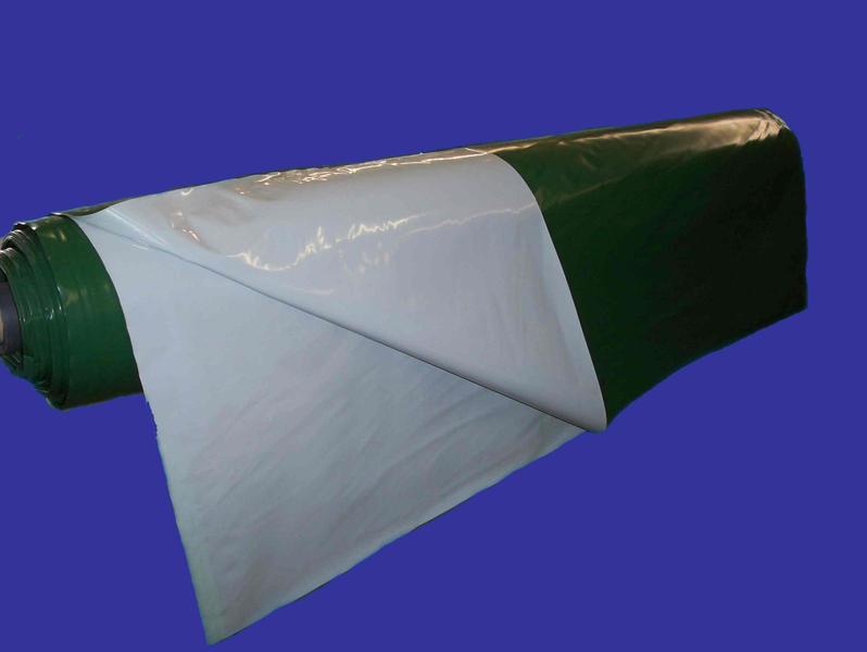 Film vert  blanc opaque BARBIER