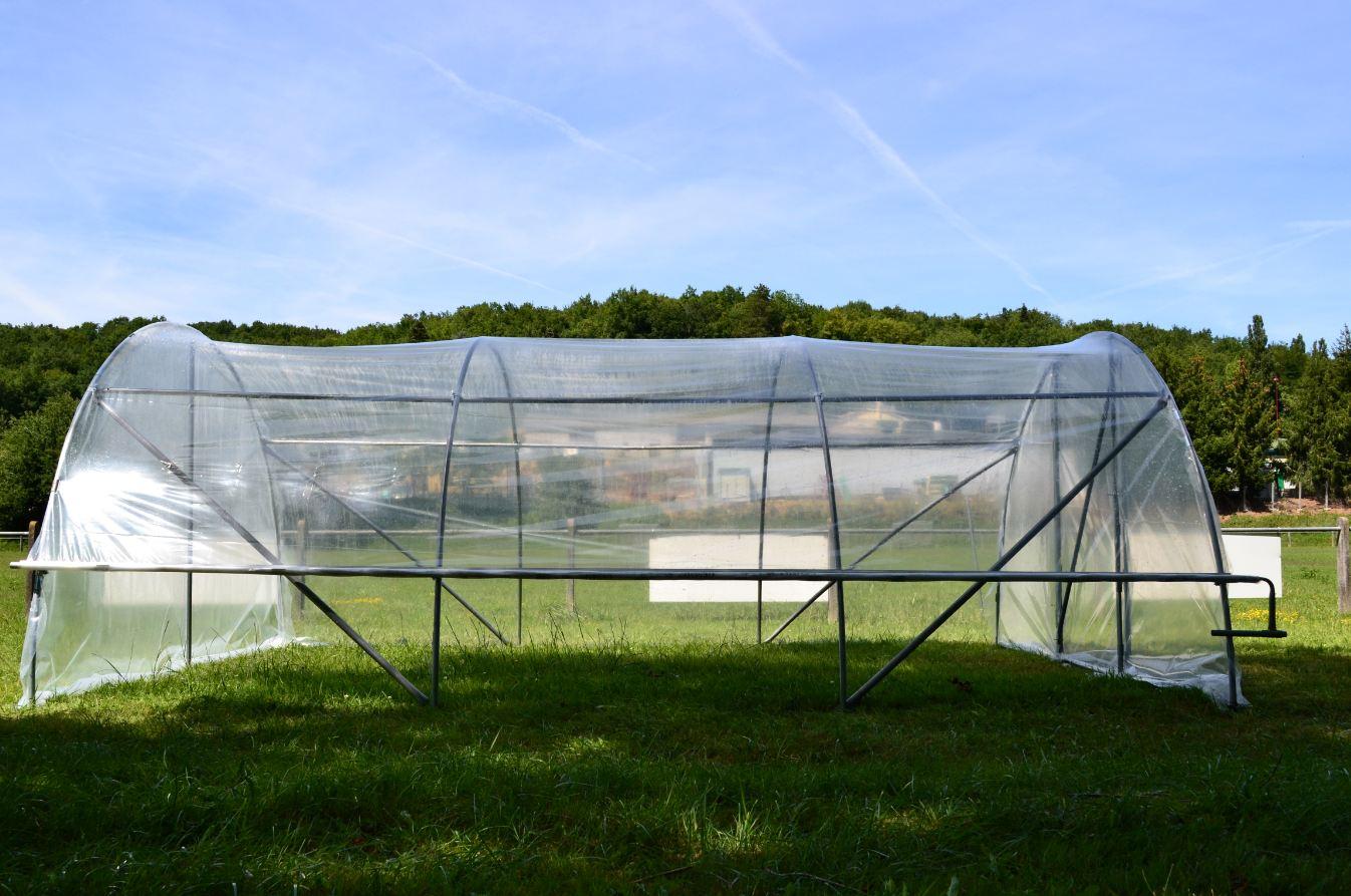 A ration lat rale pour serre de jardin 1 c t www for Arceaux pour serre de jardin