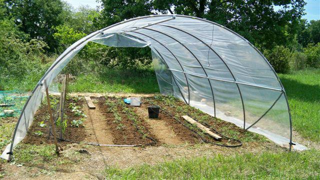Serre de jardin mini 5 40m sans fa ades www casado en for Arceaux de jardin