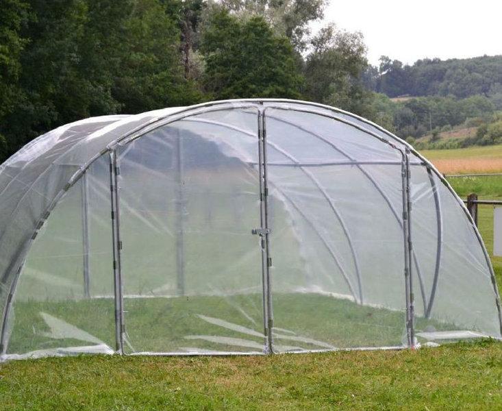 Serre de jardin mini 5 40m porte double www casado en for Porte jardin double