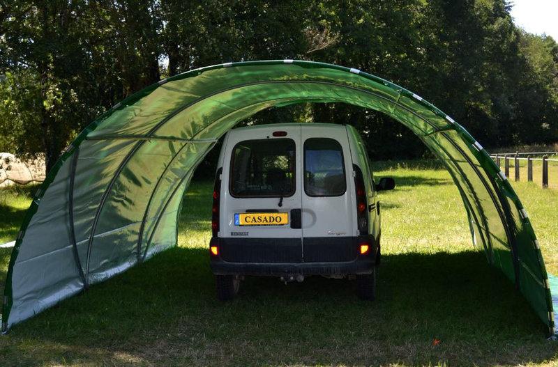 Abri tunnel de jardin mini 4 50m sans fa ades www for Mini abri jardin