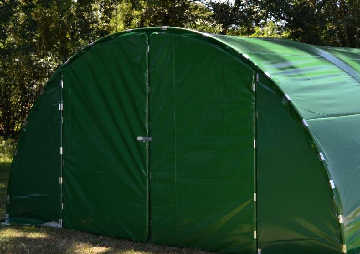 abri tunnel de jardin mini 6m porte double www casado. Black Bedroom Furniture Sets. Home Design Ideas