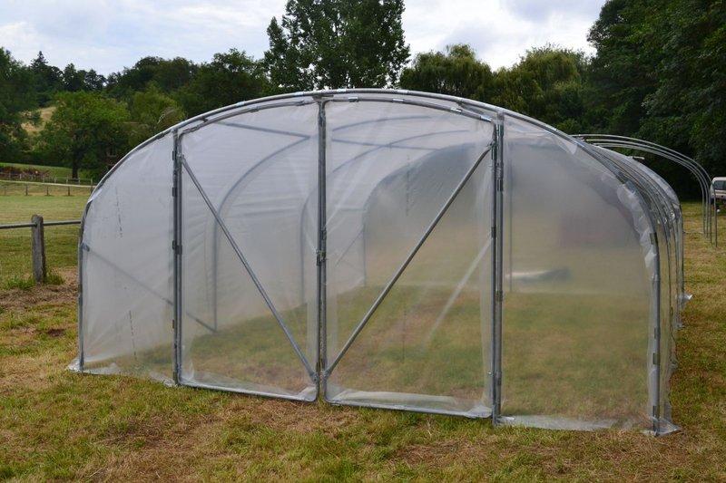 serre de jardin minimax 4m porte double www casado en ligne fr. Black Bedroom Furniture Sets. Home Design Ideas